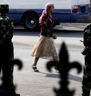Uigurisk kvinna i Kina, 2009. TT