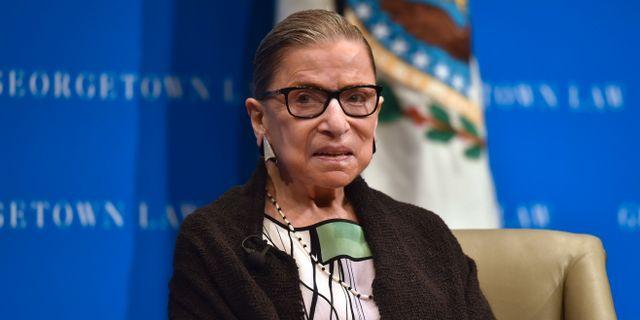 Ruth Bader Ginsburg NICHOLAS KAMM / AFP
