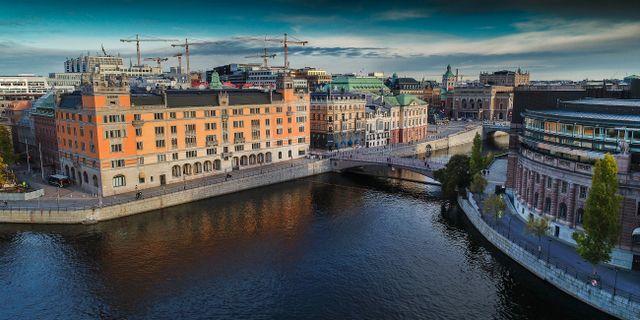Regeringskansliet i centrala Stockholm. Jonas Ekströmer/TT / TT NYHETSBYRÅN