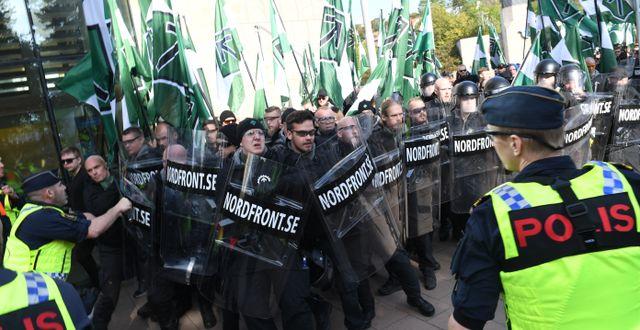 NMR-demonstrationen i Göteborg år 2017. Fredrik Sandberg/TT / TT NYHETSBYRÅN