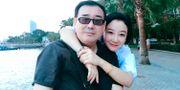 Odaterad bild på Yang Hengjun och hans fru Yuan Xiaoliang. TT NYHETSBYRÅN