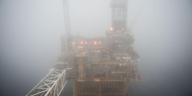 Oljerigg i Norge.  Carina Johansen / TT NYHETSBYRÅN