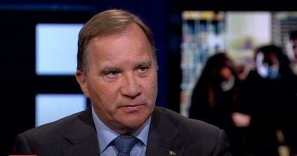 Stefan Löfven. SVT
