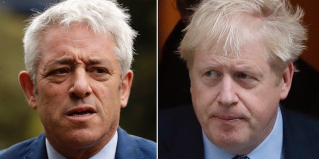 John Bercow/Boris Johnson.  TT.