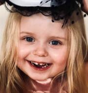 Treåriga Esmeralda. Privat