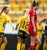 Bild från damfotbollens divsion 4. JÖRGEN JARNBERGER / BILDBYRÅN