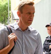 Aleksej Navalnyj. Arkivbild från 15 maj.  KIRILL KUDRYAVTSEV / AFP