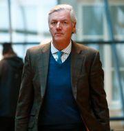 Vistor Muller anländer till hovrätten i Göteborg på tisdagen.  Thomas Johansson/TT / TT NYHETSBYRÅN