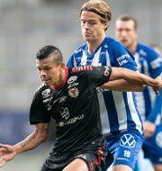 IFK Göteborg förlorade bottenmötet mot Kalmar FF. Björn Larsson Rosvall/TT / TT NYHETSBYRÅN