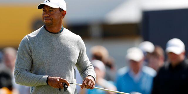 Tiger Woods. PAUL CHILDS / TT NYHETSBYRÅN
