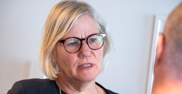 Ann-Marie Begler. Johan Nilsson/TT / TT NYHETSBYRÅN