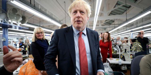 Boris Johnson. HANNAH MCKAY / TT NYHETSBYRÅN