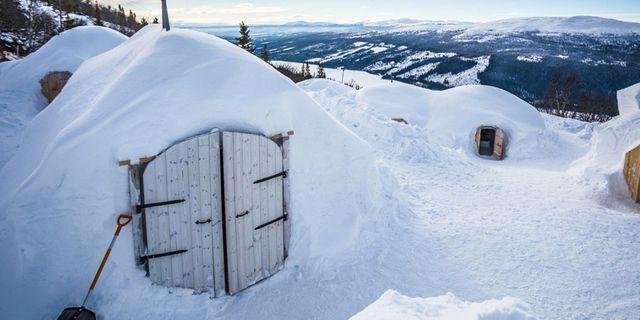 Sov i igloo – en häftig natt i Åre. Igloo Åre