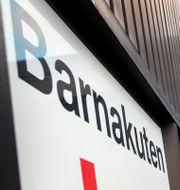 Anslag informerar om ny rutiner på grund av mässlingsutbrott vid barnakuten på Östra Sjukhuset Sahlgrenska i Göteborg i början på året. Thomas Johansson/TT / TT NYHETSBYRÅN