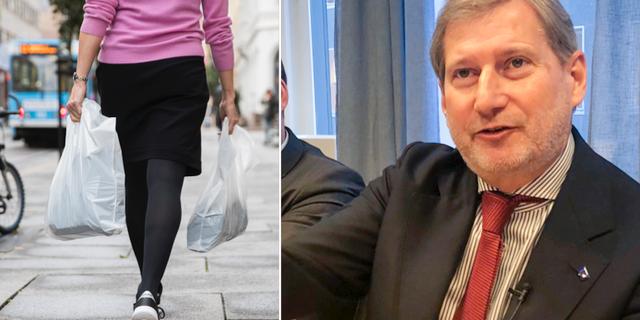 EU:s budgetkommissionär Johannes Hahn.  TT