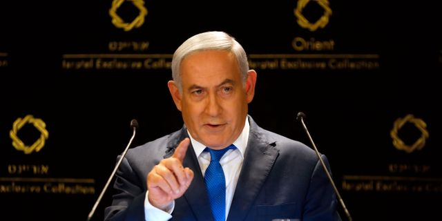 Premiärminister Benjamin Netanyahu. Ariel Schalit / TT NYHETSBYRÅN/ NTB Scanpix