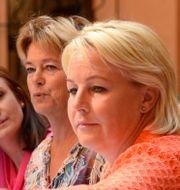 Birgitta Ohlsson (FP), Lena Adelsohn Liljeroth (M), Hillevi Engström (M). Leif R Jansson / TT
