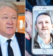 Lars Adaktusson, Ahmadreza Djalali, Ann Linde.  TT.