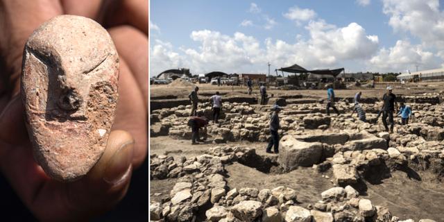 Staden ligger i norra Israel och upptäcktes i samband med ett vägbygge.