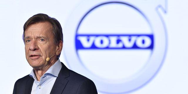 Volvo Cars vd Håkan Samuelsson  Jonas Ekströmer/TT / TT NYHETSBYRÅN