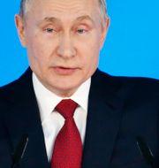 Putin under talet. Alexander Zemlianichenko / TT NYHETSBYRÅN