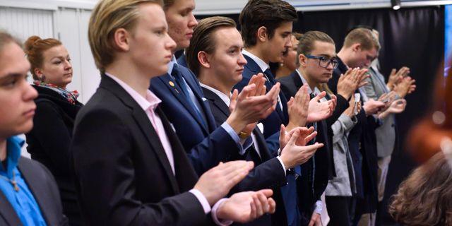 SD:s ungdomsförbund Ungsvenskarna 2016, arkivbild. Henrik Montgomery/TT / TT NYHETSBYRÅN