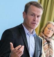 Linus Eriksson, ny vd.  Johan Nilsson/TT