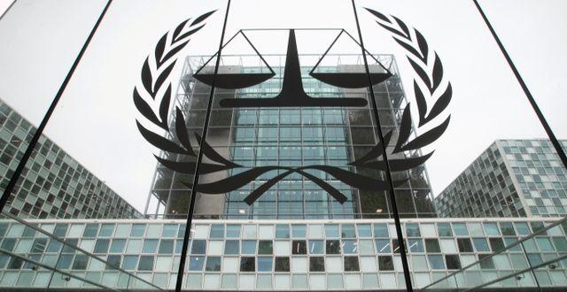 Internationella brottsdomstolen (ICC). Peter Dejong / TT NYHETSBYRÅN