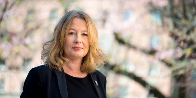 Aftonbladets kulturchef Åsa Linderborg. Arkivbild. Pontus Lundahl/TT / TT NYHETSBYRÅN