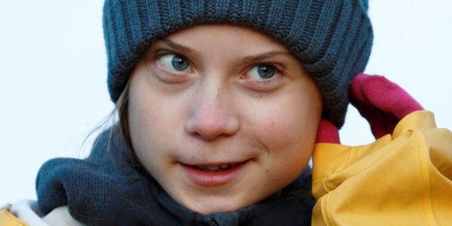 Greta Thunberg. GUGLIELMO MANGIAPANE / TT NYHETSBYRÅN
