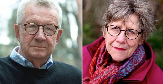 Johan Giesecke och Agnes Wold. TT