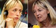 Jytte Guteland och Marita Ulvskog. TT