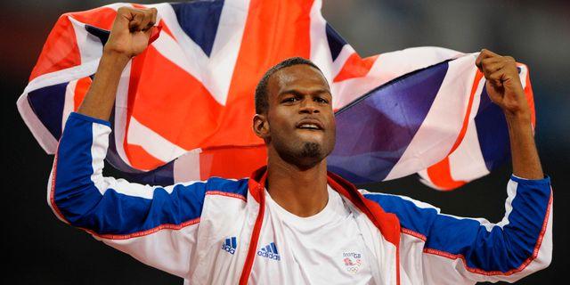 Germain Mason vid OS i Peking 2008. Mark J. Terrill / TT NYHETSBYRÅN