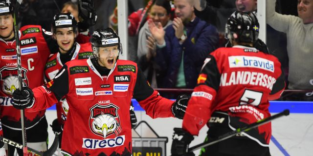 Ishockey sm semifinal 1 av 7