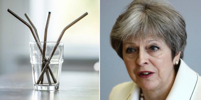 Theresa May, Storbritanniens premiärminister.  TT
