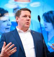 Kommunals förbundsordförande Tobias Baudin. Fredrik Sandberg/TT / TT NYHETSBYRÅN