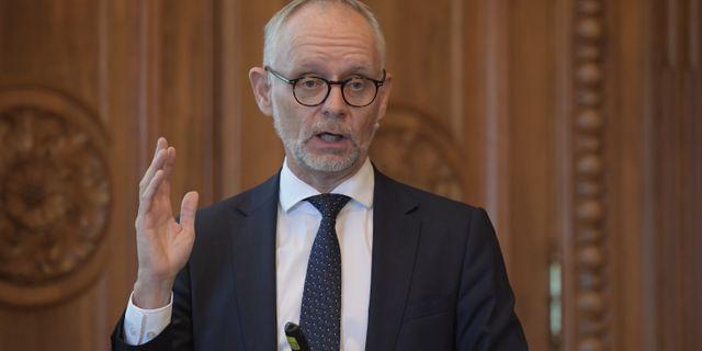 Anders Bouvin.  Anders Wiklund/TT / TT NYHETSBYRÅN
