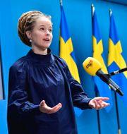 Amanda Lind (S) Kulturminister Jonas Ekströmer/TT / TT NYHETSBYRÅN