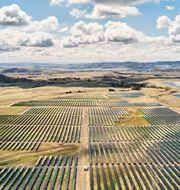 Apples nya solenergipark i Kalifornien. Apple