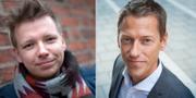 Emanuel Karlsten och Magnus Jägerskog. TT