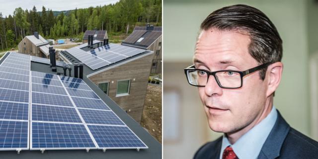 Moderaternas energipolitiske talesperson Lars Hjälmered TT