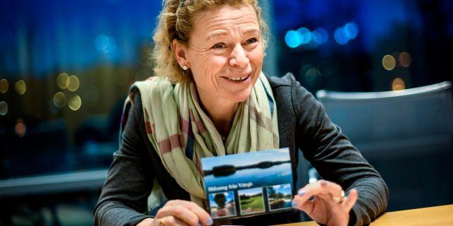 Annemarie Gardshol, tillförordnad koncernchef sedan den 9 april. Pontus Lundahl/TT / TT NYHETSBYRÅN