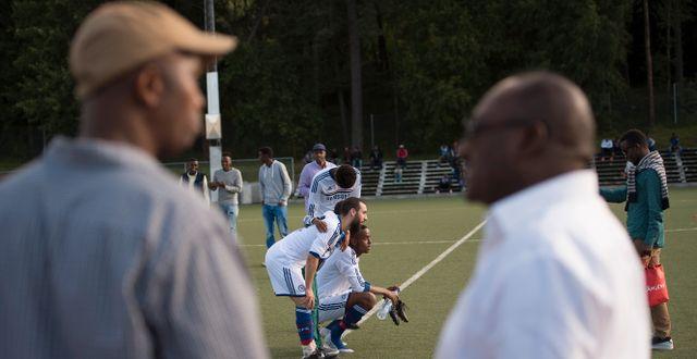 Arkivbild, somalisk fotbollsturnéring i Spånga och Rinkeby (2015). Maja Suslin/TT / TT NYHETSBYRÅN