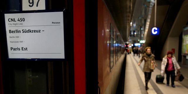Nattåg mellan Berlin och Paris/Arkivbild. Michael Sohn / TT NYHETSBYRÅN