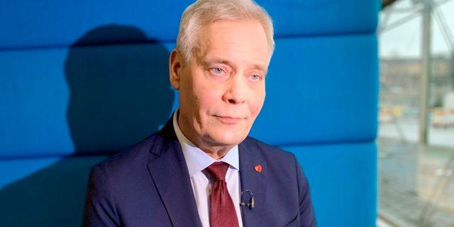 Antti Rinne, Finlands nästa statsminister. Arkivbild. Attila Cser / TT NYHETSBYRÅN