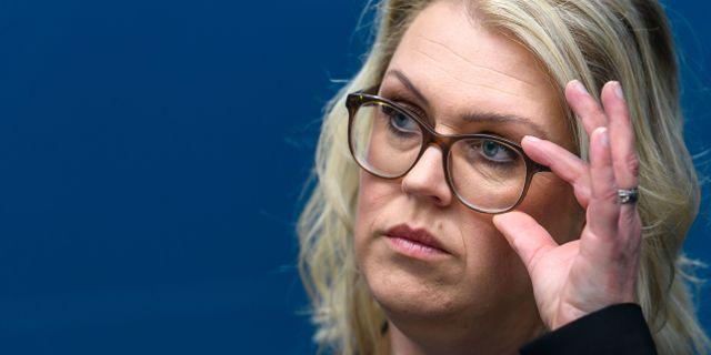Lena Hallengren . MAXIM THORE / BILDBYRÅN