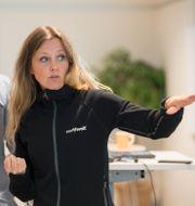 Katarina Borstedt, ansvarig för kompetensförsörjningsfrågor på Northvolt. Fredrik Sandberg/TT / TT NYHETSBYRÅN