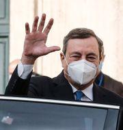 Mario Draghi. Arkivbild.  Cecilia Fabiano / TT NYHETSBYRÅN