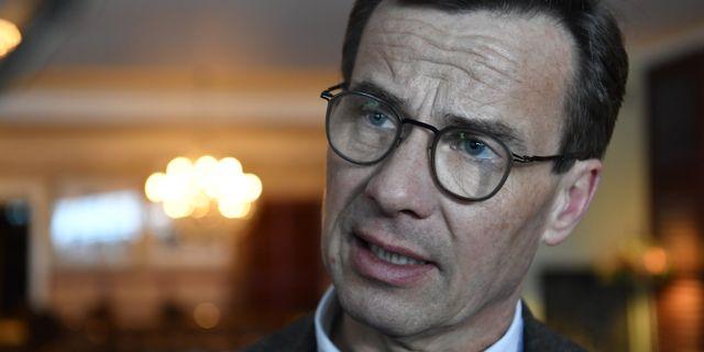 Moderatledaren Ulf Kristersson.  Henrik Montgomery/TT / TT NYHETSBYRÅN