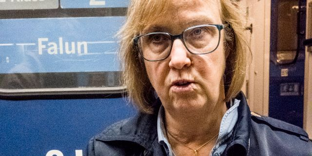 Trafikverkets generaldirektör Lena Erixon. Magnus Hjalmarson Neideman/SvD/TT / TT NYHETSBYRÅN